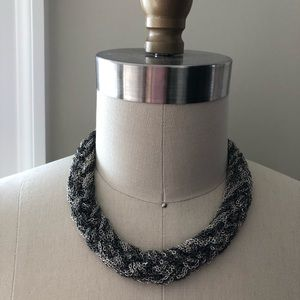 3/$30 Multi Chain Chunky Silver Toned Necklace